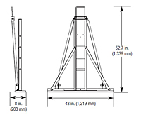 Adjustable Support Stands - 2