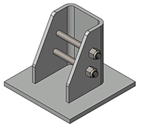 Weld Down with Flange Base Option